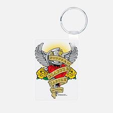 Bladder-Cancer-Dagger Keychains