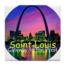 St Louis Tile Coaster