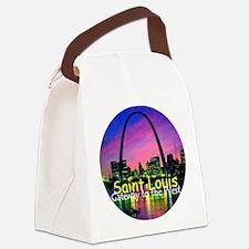 St Louis Canvas Lunch Bag