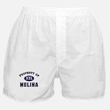 Property of melina Boxer Shorts