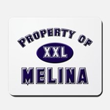 Property of melina Mousepad