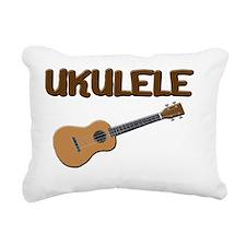 Ukulele uke Rectangular Canvas Pillow