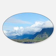 Kalaupapa Peninsula, North Shore, M Decal