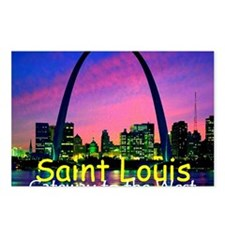 St Louis Postcards (Package of 8)