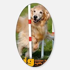 00_divaCover Sticker (Oval)