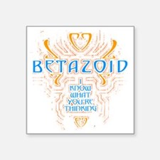 "BETAZOID Square Sticker 3"" x 3"""