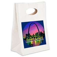 St Louis Canvas Lunch Tote