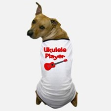 red ukulele Dog T-Shirt