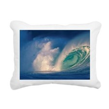 Waimea Bay, Oahu, Hawaii Rectangular Canvas Pillow