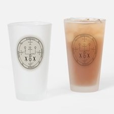 RaphSealBlk Drinking Glass