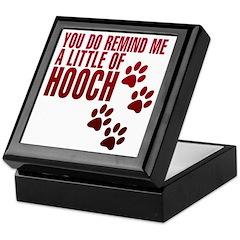 hooch Keepsake Box