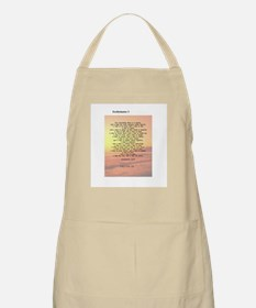 Scripture from the Bible, say BBQ Apron