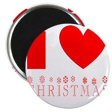 i heart christmas Magnet