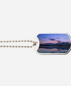 Dawn at Little Redfish Lake in the Sawtoo Dog Tags