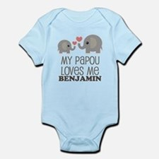 My Papou Loves Me Personalized Body Suit
