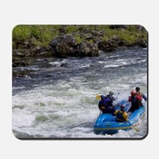 Rafters tackles the rapids on the Wild a Mousepad