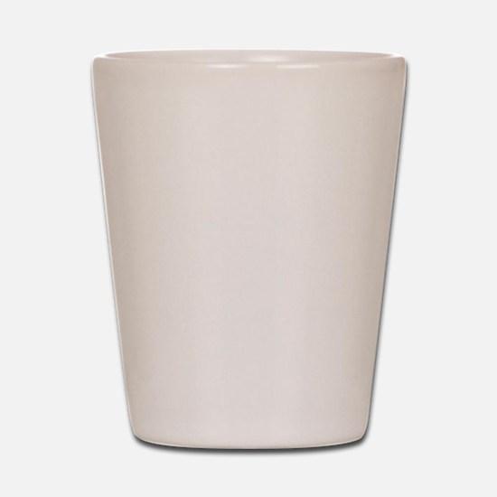 PropChrist White Shot Glass
