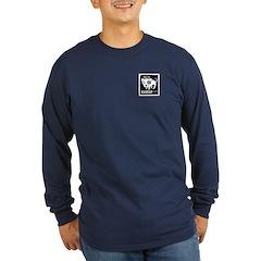 Bad Rap Logo Dark Long Sleeve T-Shirt