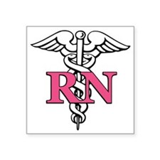 "rn1 Square Sticker 3"" x 3"""
