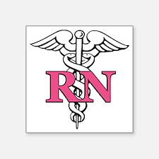 "rn1 Square Sticker 3"" x 3"""