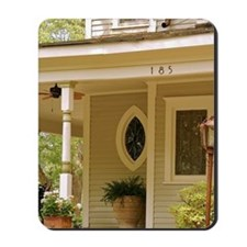 Atlanta. The walkway and front porch of  Mousepad