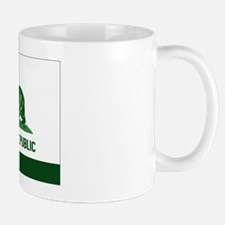 California Weed Flag Mug