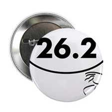 "26 Oval w figure V2 2.25"" Button"