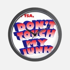 dear TSA Wall Clock