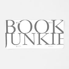 Book Junkie.gif Aluminum License Plate