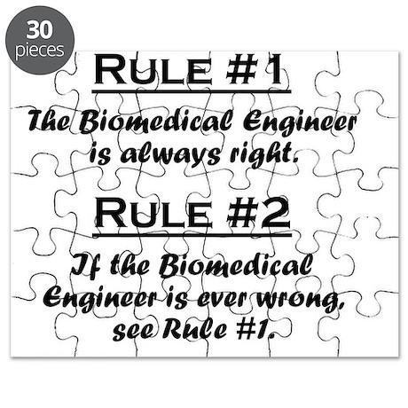 Rule Biomedical Engineer Puzzle