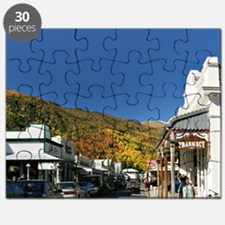 Historic Arrowtown, near Queenstown, South  Puzzle