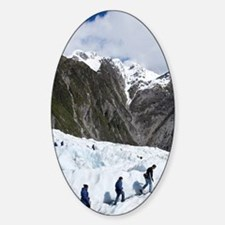 Franz Josef Glacier Sticker (Oval)
