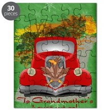 GrandmotherRoadkill192_V_card copy Puzzle
