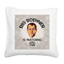 big-boehner-BUT Square Canvas Pillow
