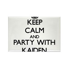 Keep Calm and Party with Kaiden Magnets