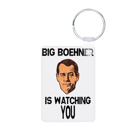 big-boehner-LTT Aluminum Photo Keychain