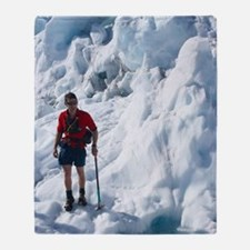 Franz Josef Glacier Throw Blanket