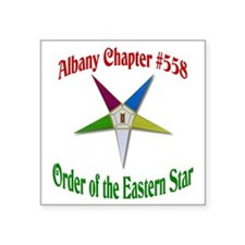 "OES 558 Square Sticker 3"" x 3"""
