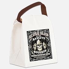 ALCATRAZ ISLAND BAD GUYS BOURBON Canvas Lunch Bag