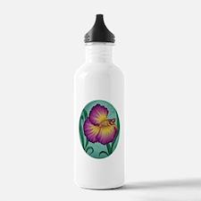 art-purpleflwerbetta2 Water Bottle
