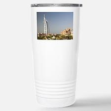 Umm Suqeim. Burj al-Arab Hotel  Stainless Steel Tr