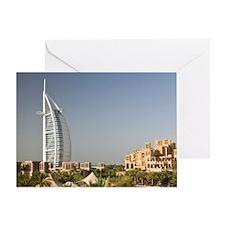 Umm Suqeim. Burj al-Arab Hotel from  Greeting Card