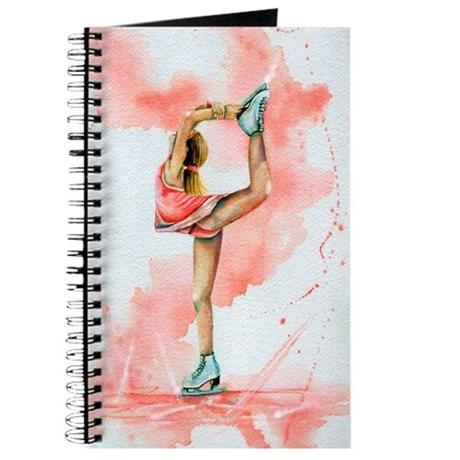 Pretty in Pink Ice Skate Journal