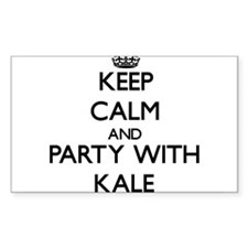 Keep Calm and Party with Kale Decal