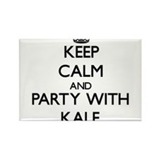 Keep Calm and Party with Kale Magnets