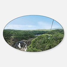 Kuranda Rainforest Skyrail in West  Sticker (Oval)