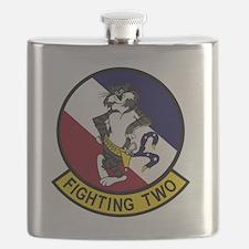 VF-2 Bounty Hunters - Fighting Two Flask