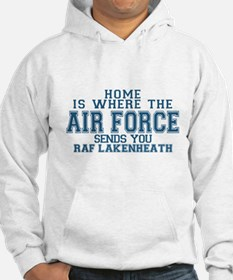 Real air force girlfriend Hoodie