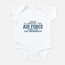 Cute Air force son Infant Bodysuit