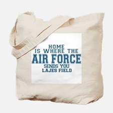 Funny Airmans fiancee Tote Bag